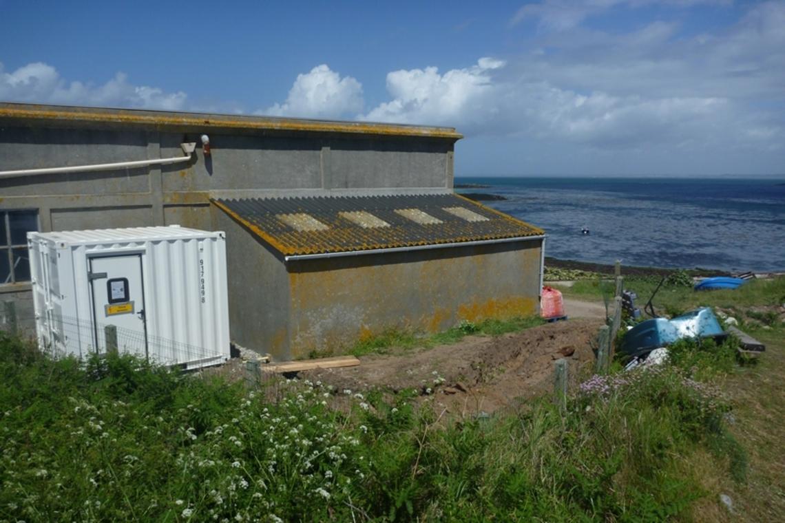 Station relais sur Molène